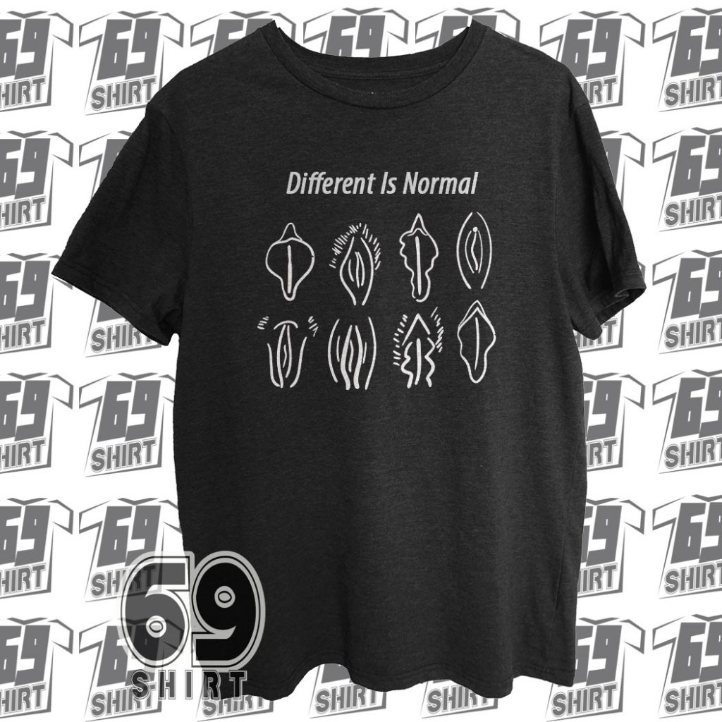 Different Is Normal Funny T-Shirt SX0019