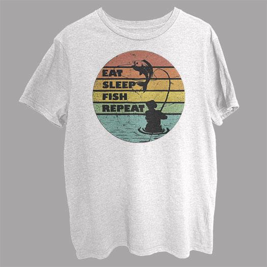 Eat Sleep Fisher Funny T-Shirt SX0001
