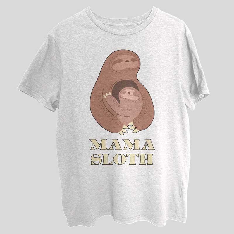 Mama Sloth Mothers Love T-Shirt SX0009