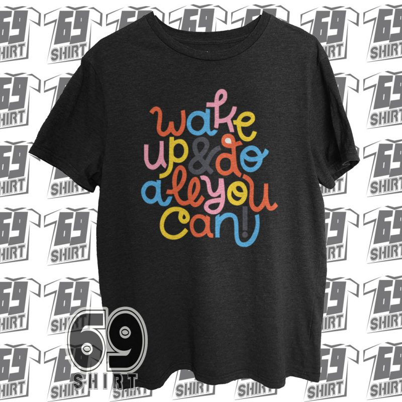 Wake Up Full Color Block T-Shirt SX0015