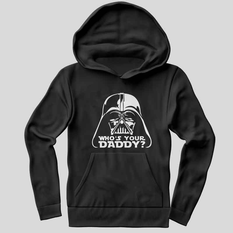 Darth Vader Meme Who's Your Daddy Hoodie