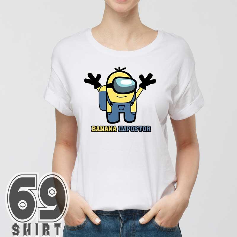 Banana Impostor Among Us Minion Version Shirt