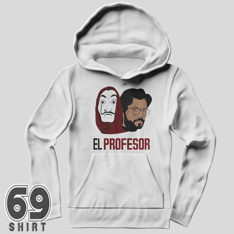 Money Heist Sweatshirt Print La Casa De Papel Hoodie