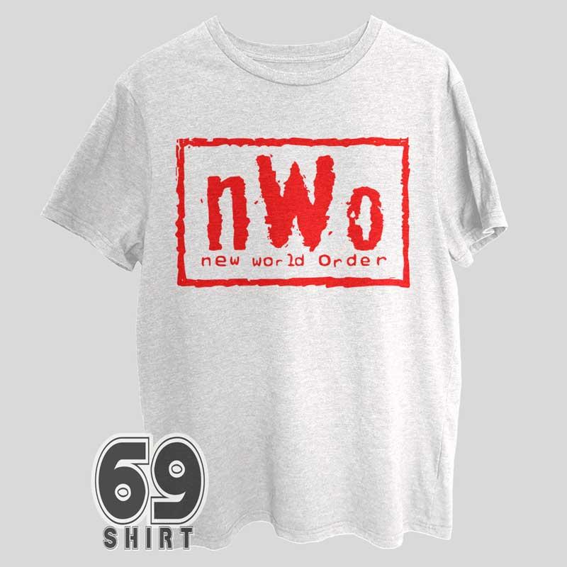 nWo New World Order Red Letter Shirt