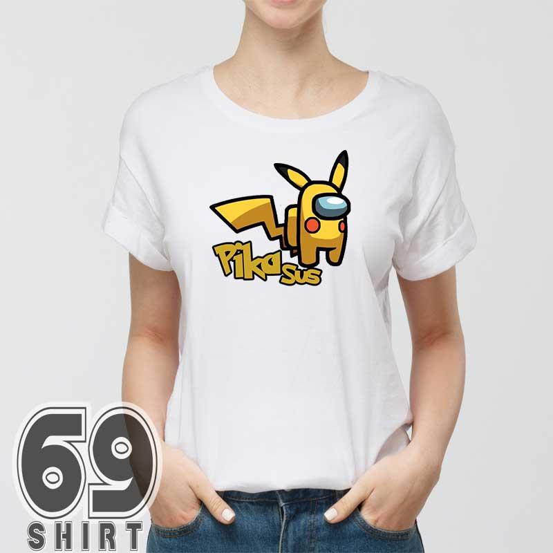 pikasus-funny-among-us-shirt-women
