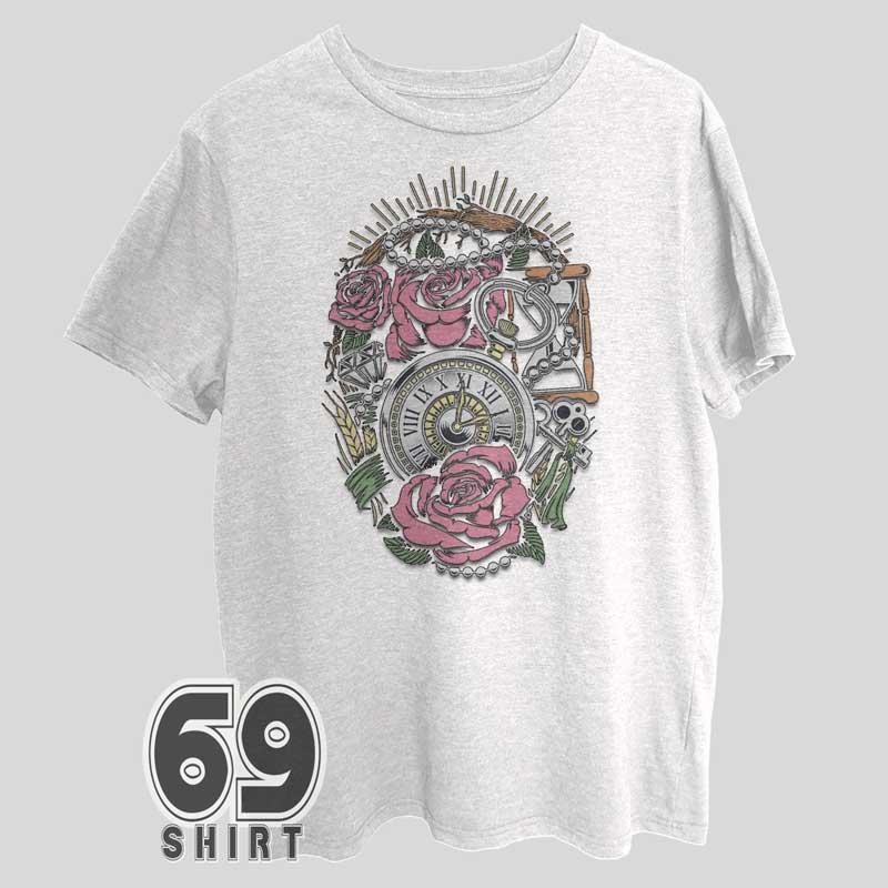 Precious Time Shirt Vintage Design